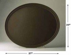 Oval Serving Tray Plastic