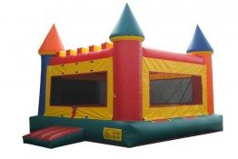 15x15 Castle Bounce House (2)