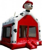 15x15 Sparky the Dalmation Bounce House