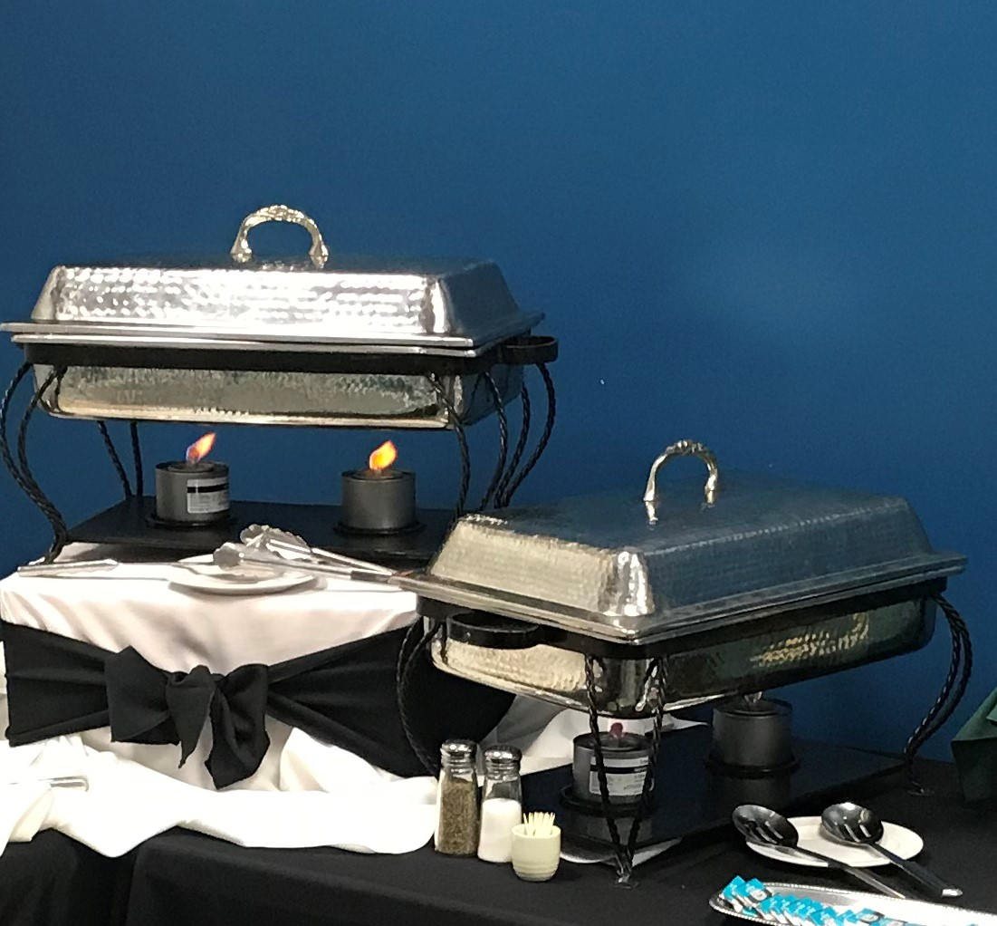 food service equipment on table