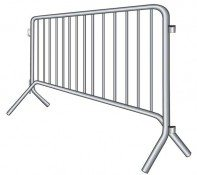 barricade bike rack